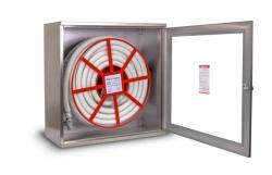 Hydrantový systém K-L D25 20/30 Standard nerez, 650x650x210