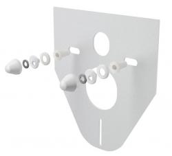 Alcaplast Izolační deska pro závěsné WC a bidet s příslušenstvím a krytkou (bílá) M910