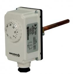 """Giacomini K373I-1 Bimetalový jímkový termostat 1/2"""" 0 ÷ 90°C"""