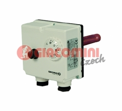 Giacomini K373I-2 Bimetalový dvojitý jímkový termostat