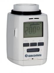 Giacomini K470H Týdenní programovatelná hlavice pro termostatické ventily Clip-Clap nebo M30x1,5