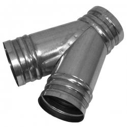 2VV Kalhotový kus KK45 k rozbočení trasy potrubí,  45°