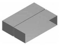 Atrea KSP Kanálová spojka přímá 200x50 R120301