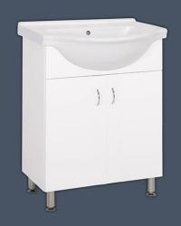 Skříňka s umyvadlem Multi Pro 66 cm, bílá
