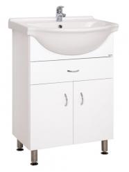 Keramia Skříňka s umyvadlem Pro 60 cm, bílá PRO60Z