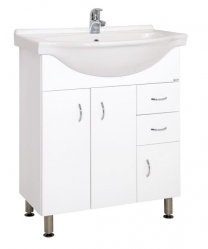 Keramia Skříňka s umyvadlem Pro 70 cm, bílá PRO70DV