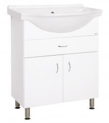 Keramia Skříňka s umyvadlem Pro 70 cm, bílá PRO70Z