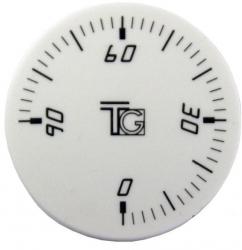 Regulus Knoflík čočkový bílý 6975.00.2A, 0-90 stupňů 1830