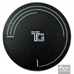 Knoflík čočkový černý, symbol TG 752