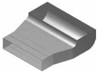Atrea KKC Krabice koncová čelní rozvodu 200x50 s otvorem pro podlahovou mřížku 255x100 R130011
