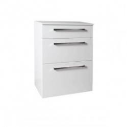 Krajcar Doplňková skříňka KNP9.70, korpus bílý, dvířka bílá