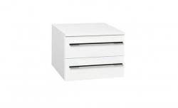 Krajcar Doplňková skříňka KQ3.50, korpus bílý, dvířka bílá