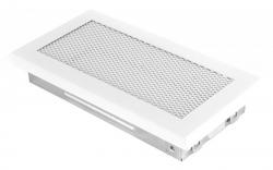 Krbová mřížka 10x20cm bílá HSF06-035