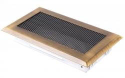 Krbová mřížka 10x20cm mosaz patina HSF06-043