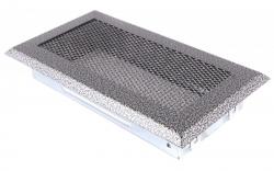 Krbová mřížka 10x20cm staré stříbro HSF06-047