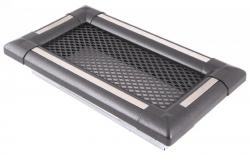 Krbová mřížka 10x20cmm EXCLUSIVE grafit/inox HSF06-039