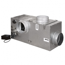 HS Flamingo Krbový ventilátor Vents 400 s bypasem a filtrem