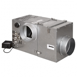 HS Flamingo Krbový ventilátor Vents 520 s filtrem