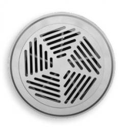 2VV Kruhová větrací vyústka VM011 do podlahy, s prstencem