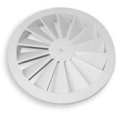 2VV Kruhový stropní vířivý difuzor WR200, středový šroub