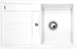 Kuchyňský dřez Blanco METRA 45 S Silgranit bílá oboustranné provedení 78x50x19 cm