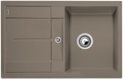 Kuchyňský dřez Blanco METRA 45 S Silgranit tartufo oboustranné provedení 78x50x19 cm
