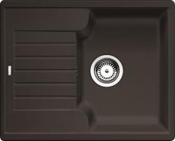 Kuchyňský dřez Blanco ZIA 40 S Silgranit kávová oboustranné provedení 61,5x50x19 cm
