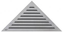 Alcaplast LIFE Perforovaný rošt pro rohový podlahový žlab