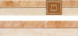 Listela Multi Laura béžová 5x25 cm, lesk