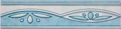 Listela Multi Laura modrá 6x25 cm, lesk