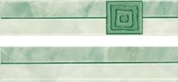 Listela Multi Laura zelená 5x25 cm, lesk