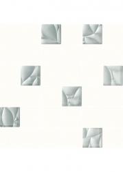 Paradyz Mozaika Dekorace Esten Bianco/silver Řez. K.4,8x4,8 29,8x29,8