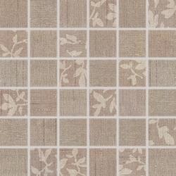 Mozaika Rako Textile hnědá 30x30 cm, mat
