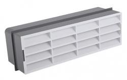 2VV MULTI-PLAST Horizontální větrací mřížka do zdi 60x204mm
