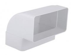 2VV MULTI-PLAST Plastový oblouk vertikální 90°