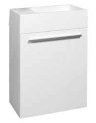 Naturel Skříňka s umývátkem Verona 46 cm, bílá  VERONA46WH
