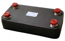 Regulus Nerezový deskový výměník tepla DV800-30E izolovaný 10490