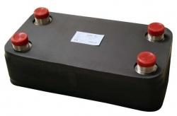Regulus Nerezový deskový výměník tepla DV800-50E izolovaný 10491