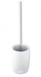 NIMCO Ava Stojánkový toaletní WC kartáč, bílá/chrom