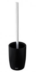 NIMCO Ava Stojánkový toaletní WC kartáč, černá/chrom