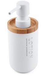 NIMCO Kora Dávkovač na tekuté mýdlo, bílá, 270 ml