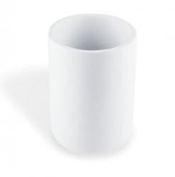 NIMCO Omi Pohárek na zubní kartáčky, bílá