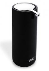 NIMCO Omi Stojánkový dávkovač na tekuté mýdlo, černá/chrom