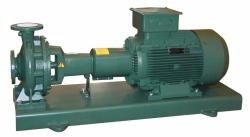 Normované kozlíkové čerpadlo - hydraulická část - litinové oběžné kolo DAB.KDN