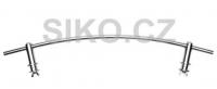 Obloukové madlo na radiátor 59cm, chrom MADLOOBLRAD59CR
