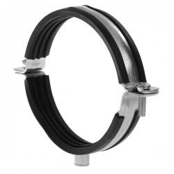 2VV Ocelová kovová dvoudílná objímka s gumou SBOG