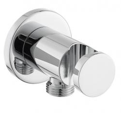OPTIMA držák s vyústěním sprchy kulatý