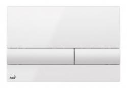 Alcaplast Ovládací tlačítko pro předstěnové instalační systémy (bílá) M1710