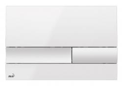 Alcaplast Ovládací tlačítko pro předstěnové instalační systémy (bílá) M1730