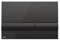 Alcaplast Ovládací tlačítko pro předstěnové instalační systémy (černá) M1718
